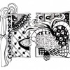 Thumbnail image for Variations on one Zentangle